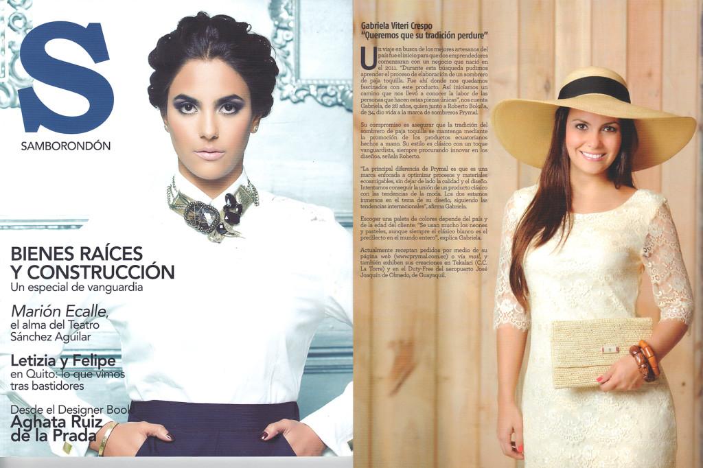 Revista Samborondon – Nov 2012