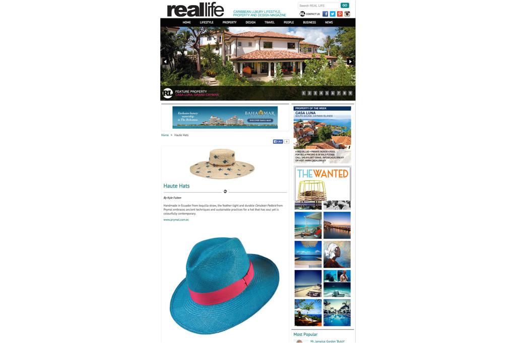 Real Life Magazine – Oct 2014