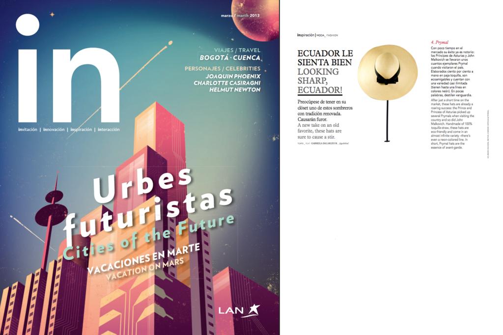 IN Lan Magazine from Lan Airlines – Mar 2013