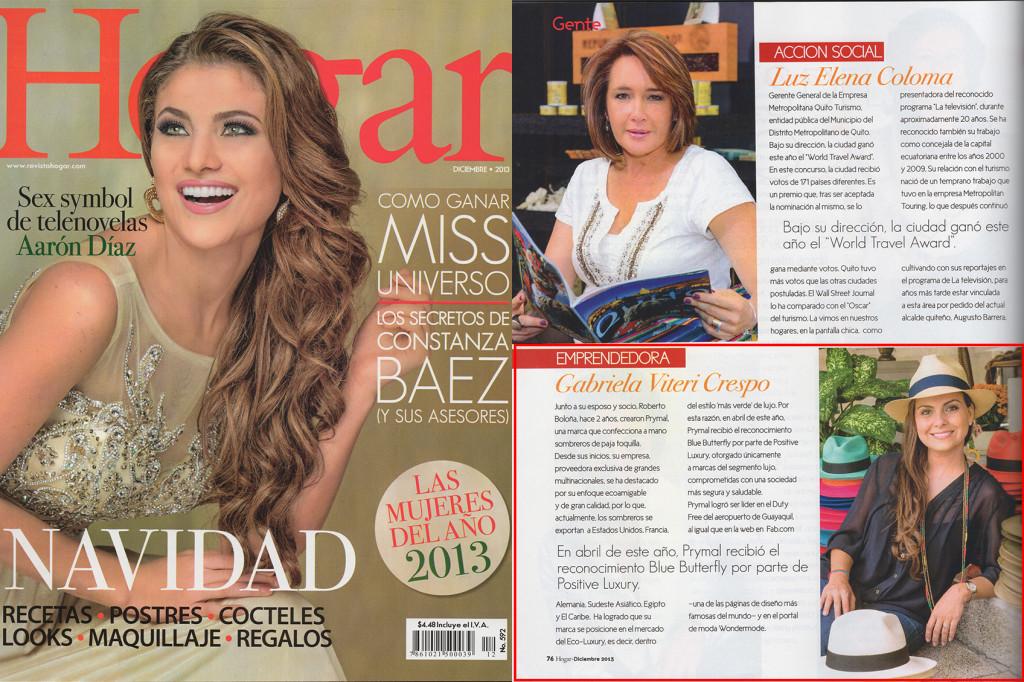 Revista Hogar – Dec 2013