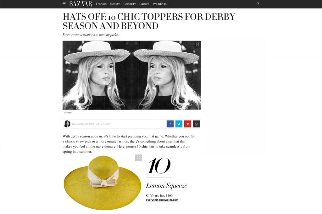 Harper's Bazaar – Apr 2016