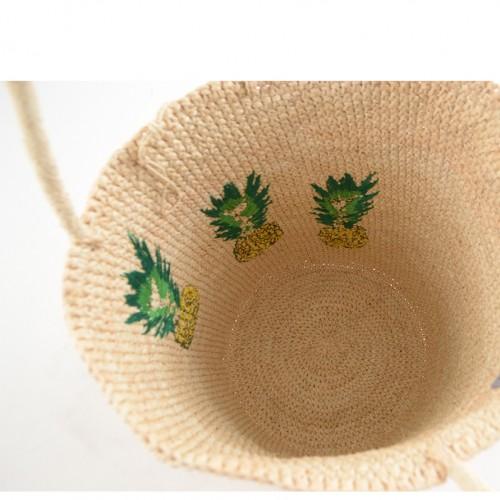 tote, beach, summer, pineapples